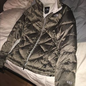 puffy north face jacket
